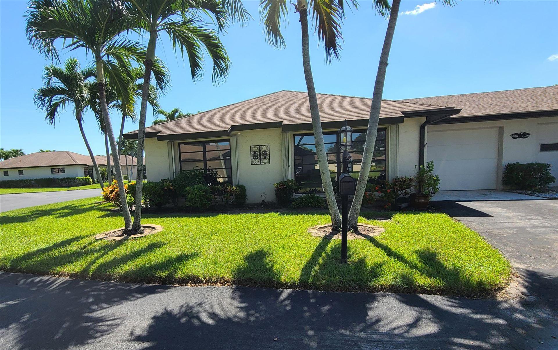 10235 Dovewood Lane #A, Boynton Beach, FL 33436 - #: RX-10596063