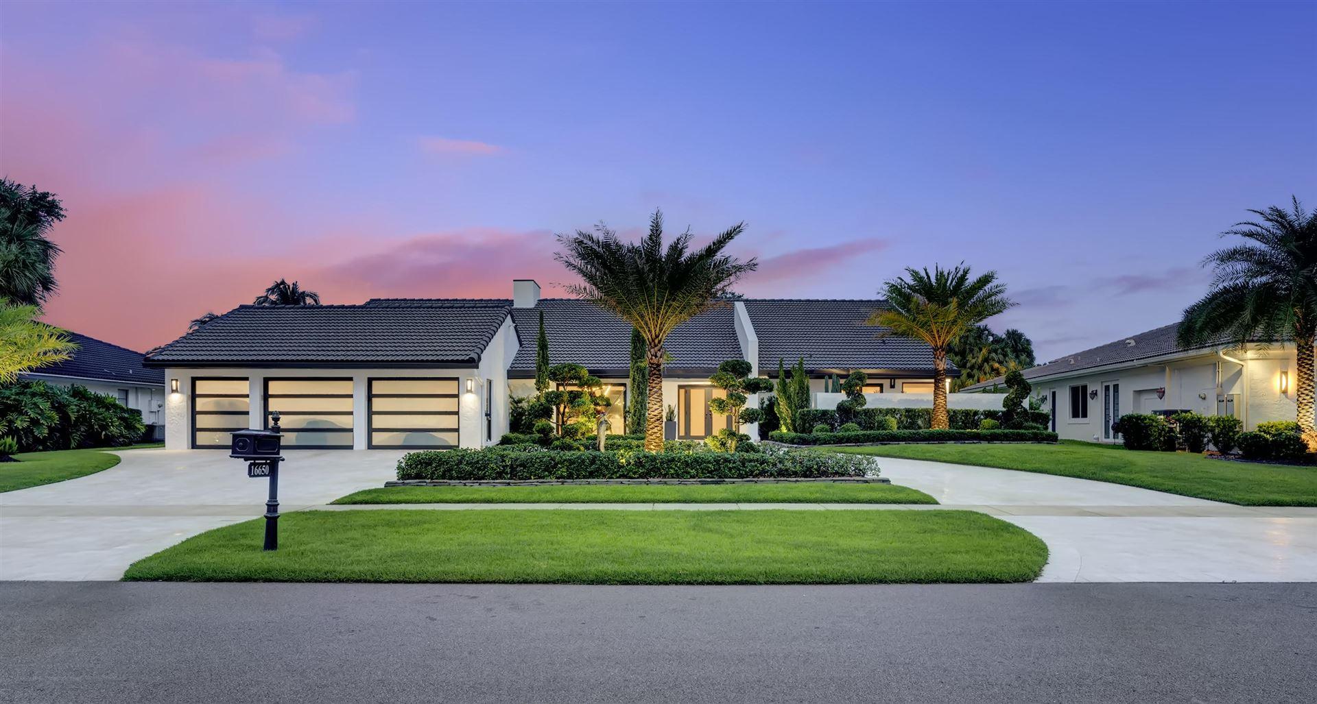 16650 Ironwood Drive, Delray Beach, FL 33445 - #: RX-10650063