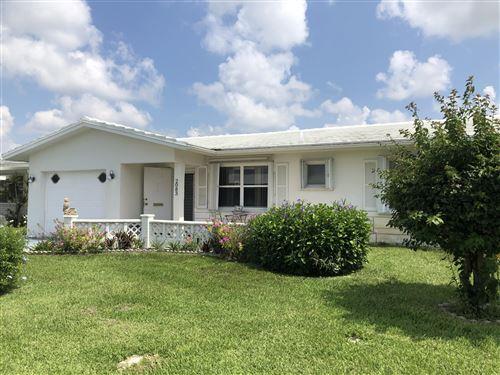 Photo of Listing MLS rx in 2083 SW 13th Terrace Boynton Beach FL 33426