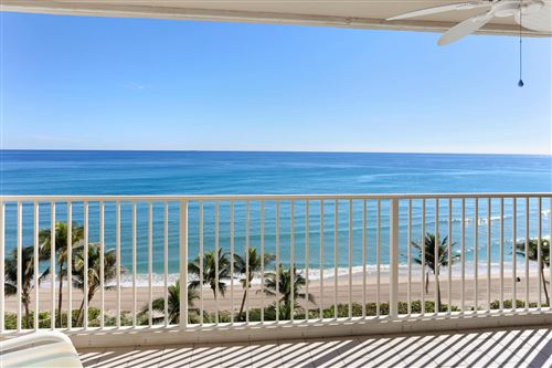Photo of 3101 S Ocean Boulevard #816, Highland Beach, FL 33487 (MLS # RX-10613068)