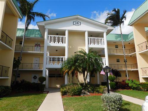Photo of 15 Colonial Club Drive #303, Boynton Beach, FL 33435 (MLS # RX-10674070)