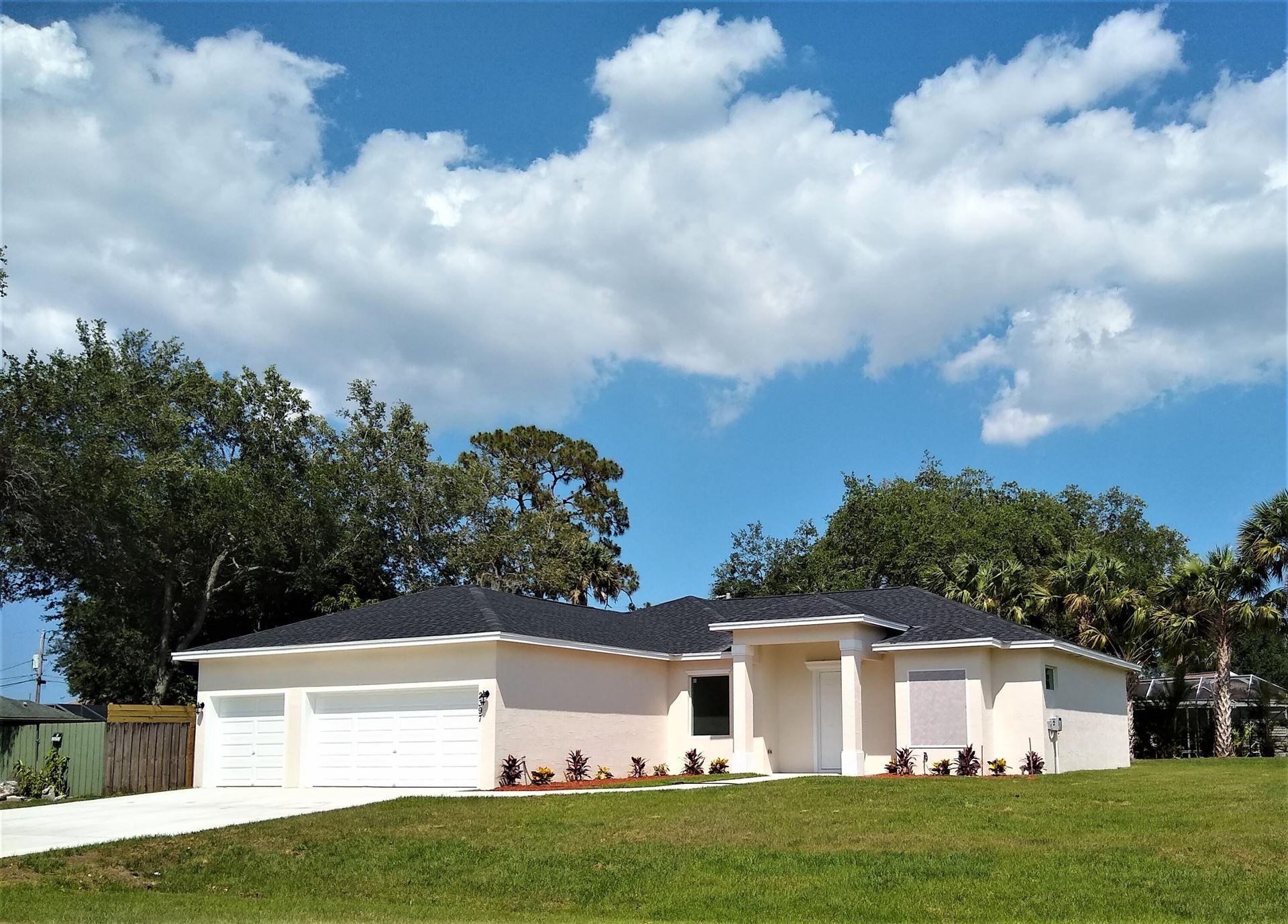 2397 SW Scodella Terrace, Port Saint Lucie, FL 34953 - MLS#: RX-10713070
