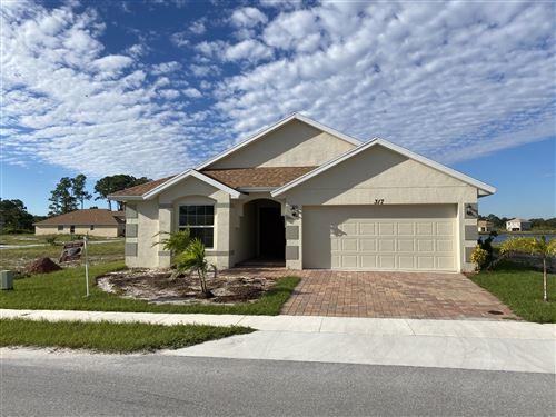 Photo of 317 Palm Breezes Road, Fort Pierce, FL 34945 (MLS # RX-10675071)