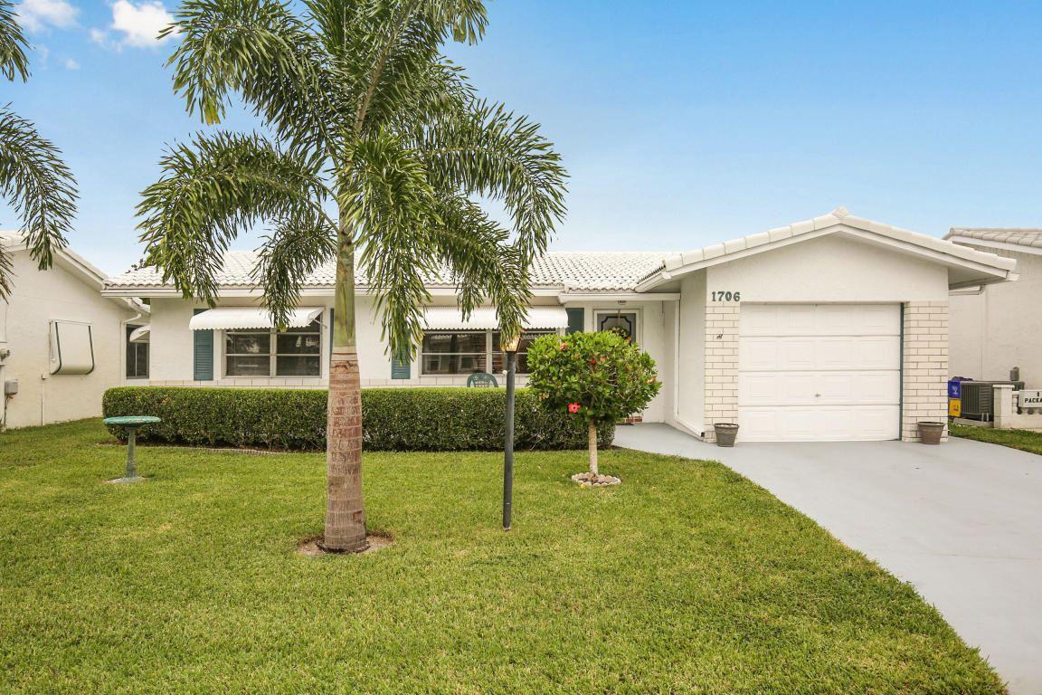 1706 SW 21st Street, Boynton Beach, FL 33426 - #: RX-10639071