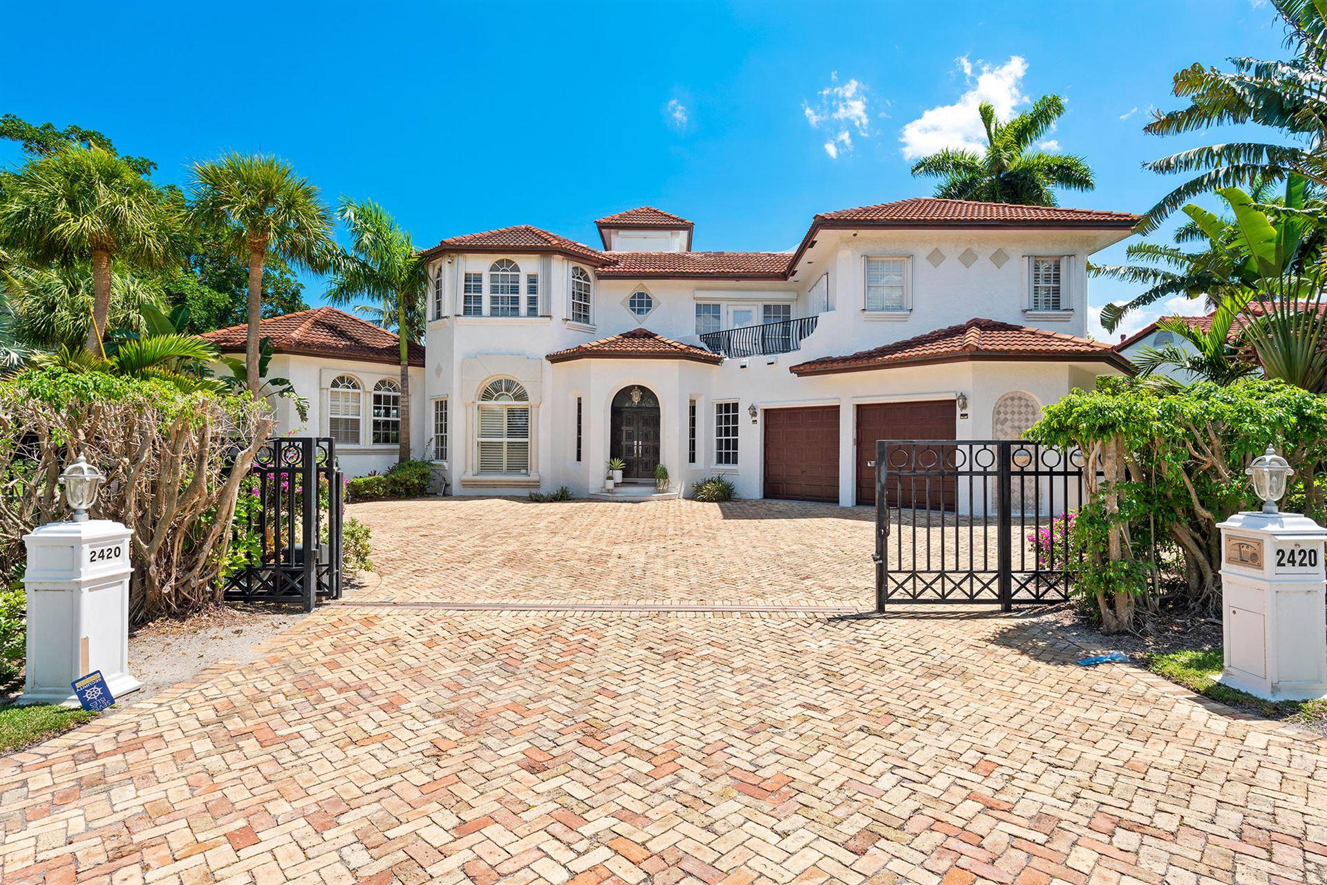 2420 Sea Island Drive, Fort Lauderdale, FL 33301 - MLS#: RX-10715071
