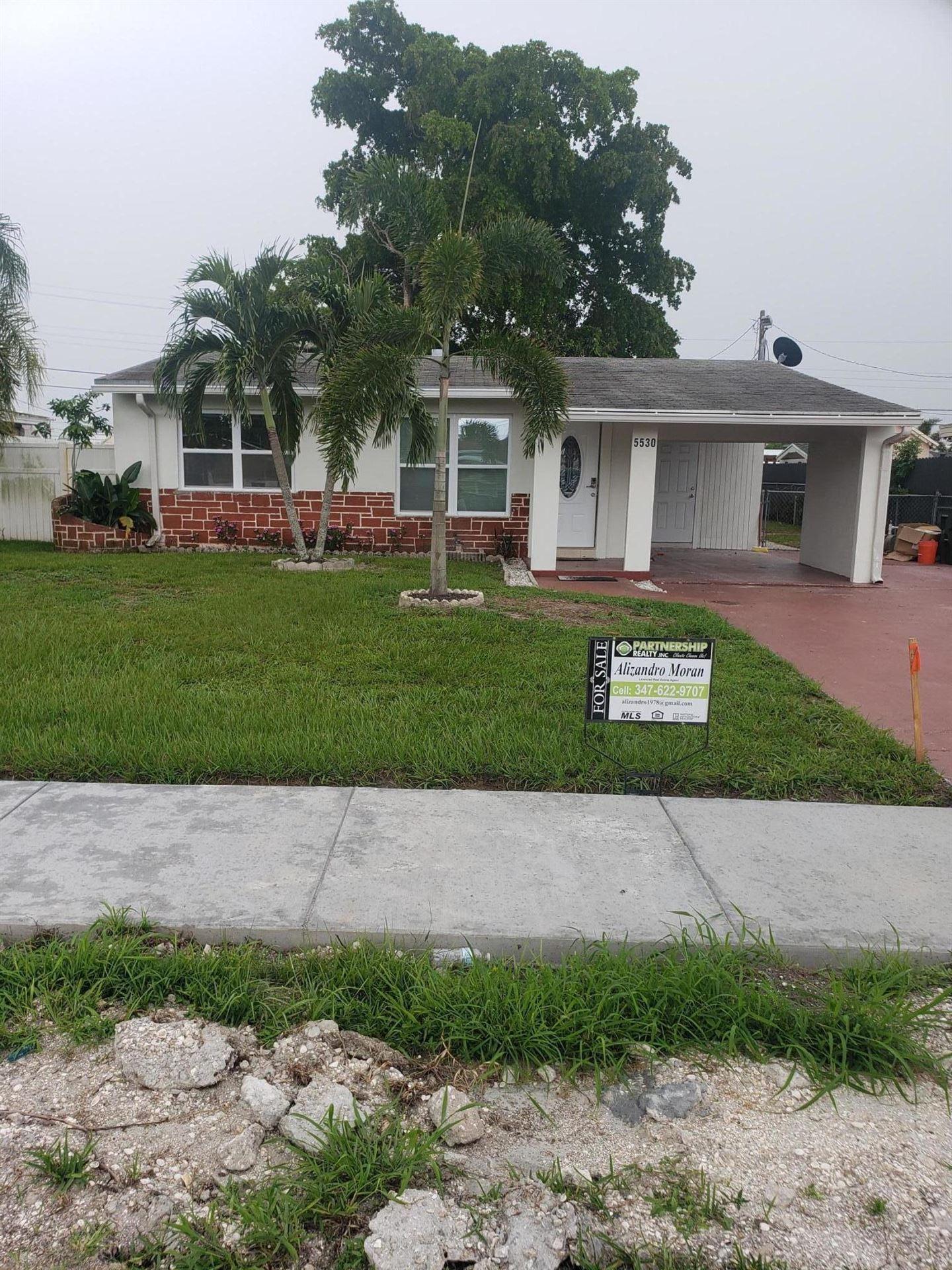 5530 S 38th Street, Greenacres, FL 33463 - MLS#: RX-10732072