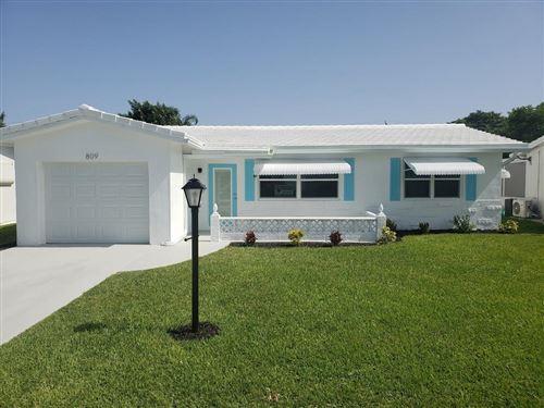 Foto de inmueble con direccion 809 SW 3rd Avenue Boynton Beach FL 33426 con MLS RX-10642073