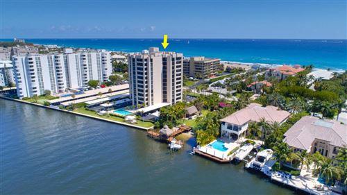 Photo of 2220 S Ocean Boulevard #402, Delray Beach, FL 33483 (MLS # RX-10687073)