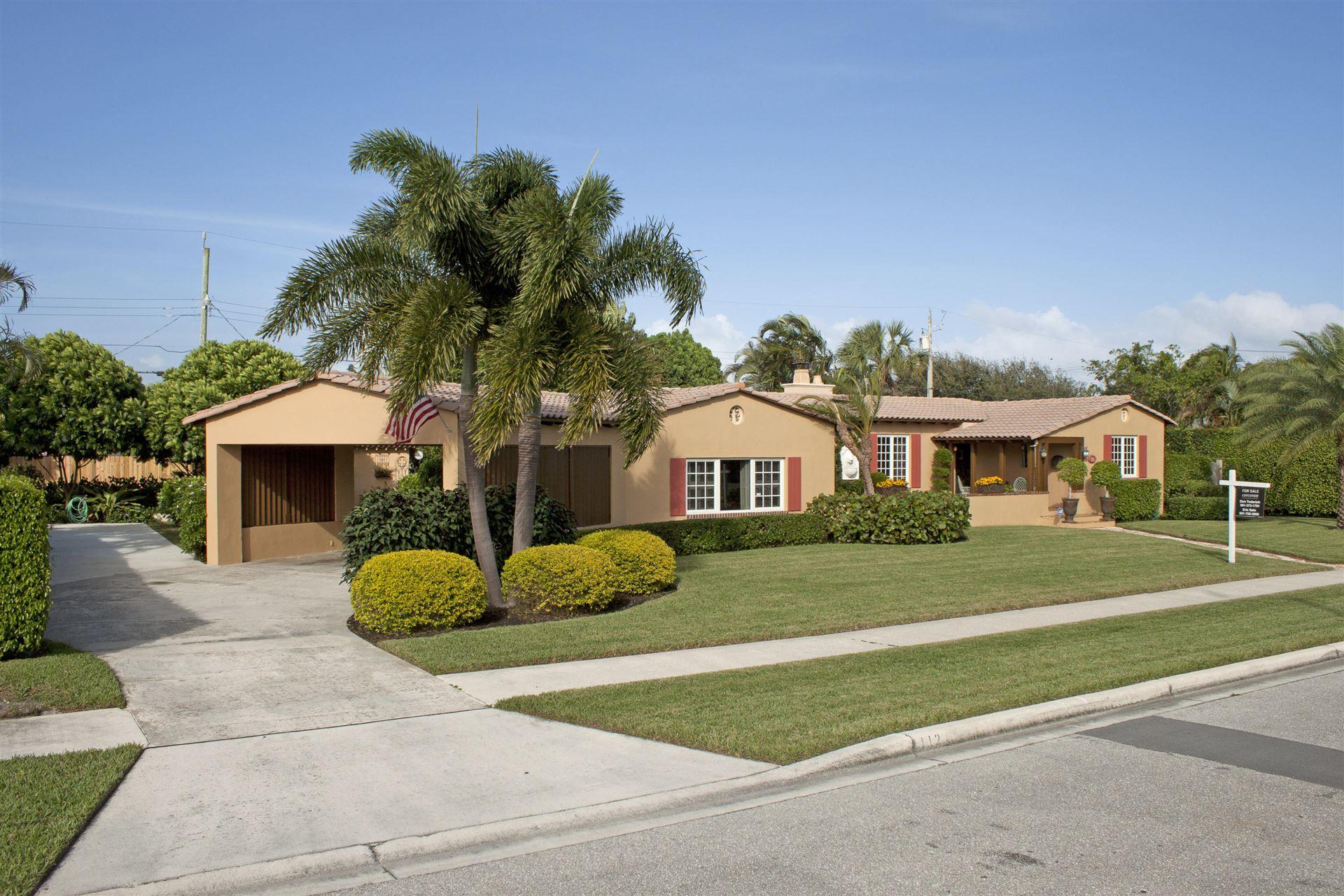 112 Yale Drive, Lake Worth, FL 33460 - MLS#: RX-10715076