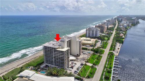 Photo of 2727 S Ocean Boulevard #605, Highland Beach, FL 33487 (MLS # RX-10662077)