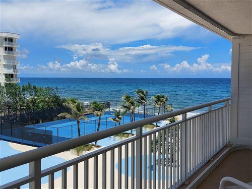 Photo of 3546 S Ocean Boulevard #525, South Palm Beach, FL 33480 (MLS # RX-10738078)