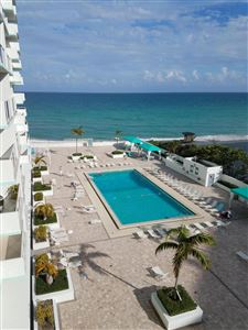 Photo of 3725 S Ocean Drive #610, Hollywood, FL 33019 (MLS # RX-10478079)