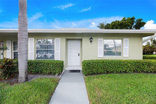 Photo of 1141 Boxwood Drive #38-D, Delray Beach, FL 33445 (MLS # RX-10754079)