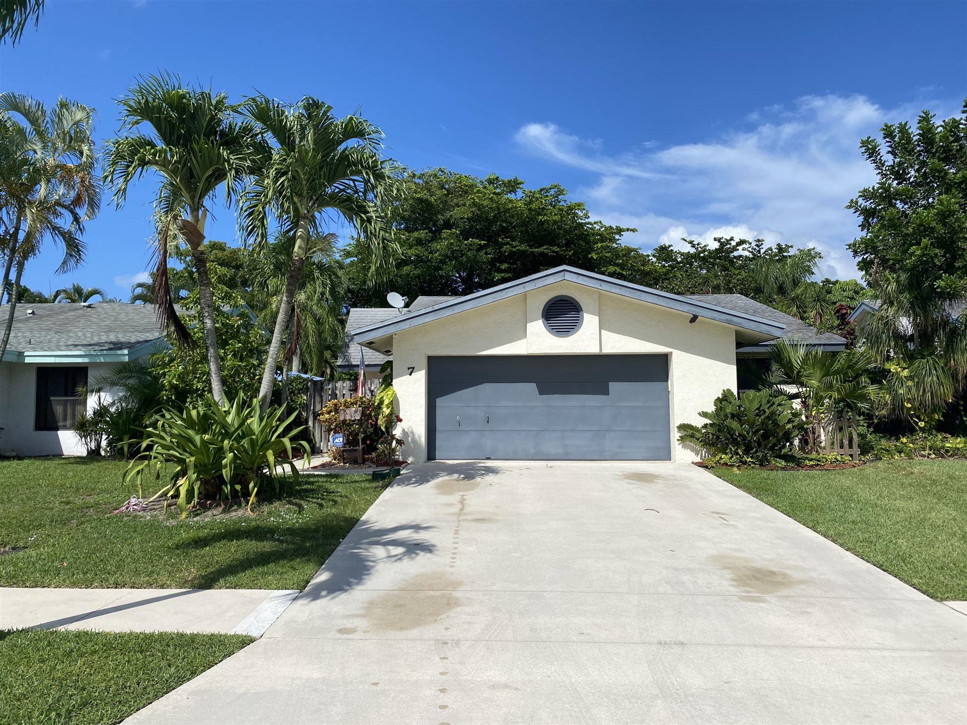 7 Baytree Circle, Boynton Beach, FL 33436 - #: RX-10635079