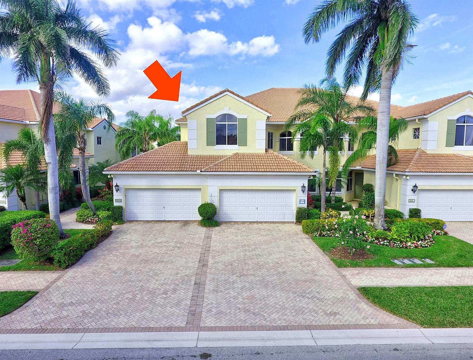 113 Palm Bay Drive #C, Palm Beach Gardens, FL 33418 - MLS#: RX-10603081