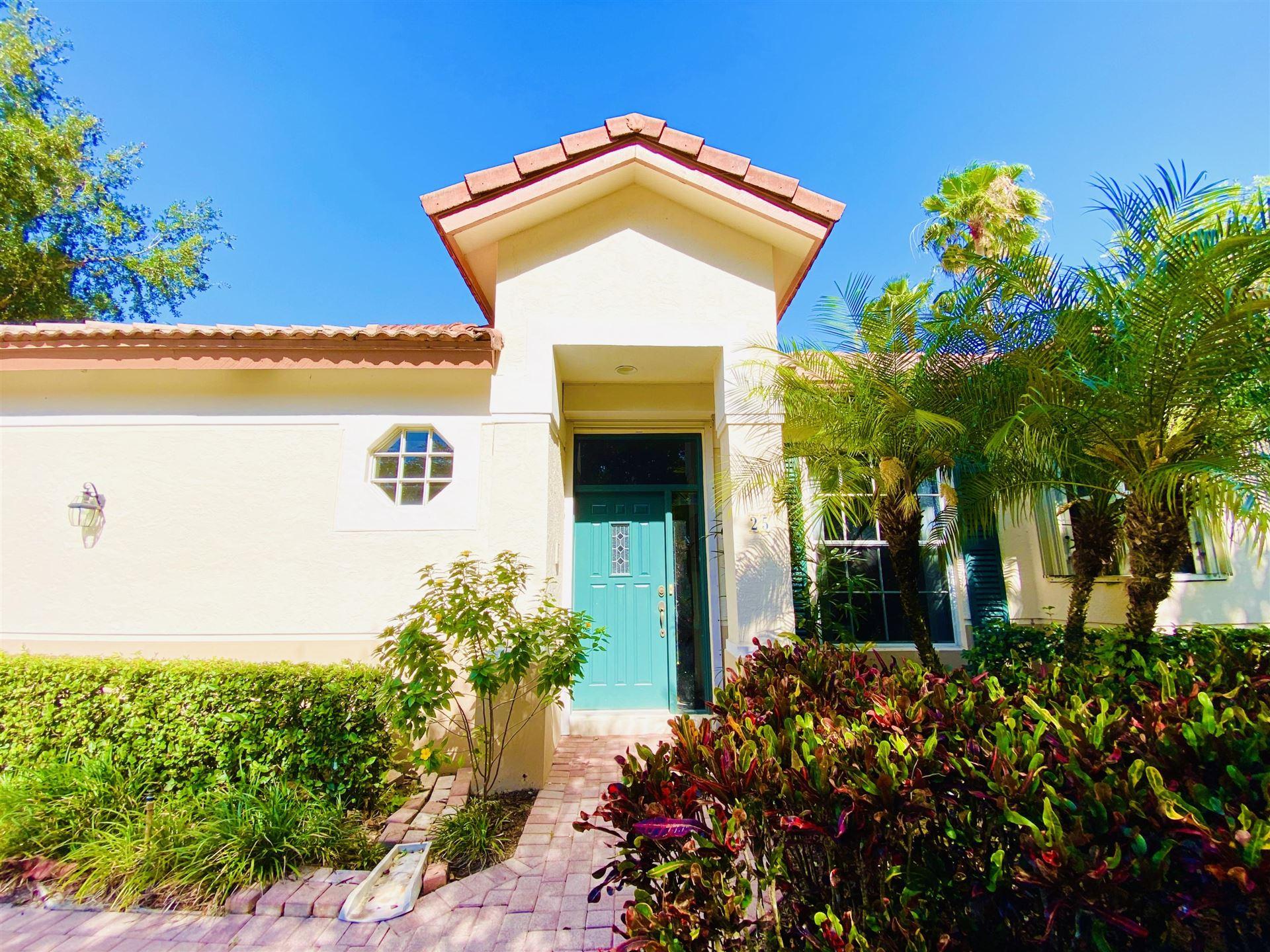 25 Porta Vista Circle, Palm Beach Gardens, FL 33418 - #: RX-10619081