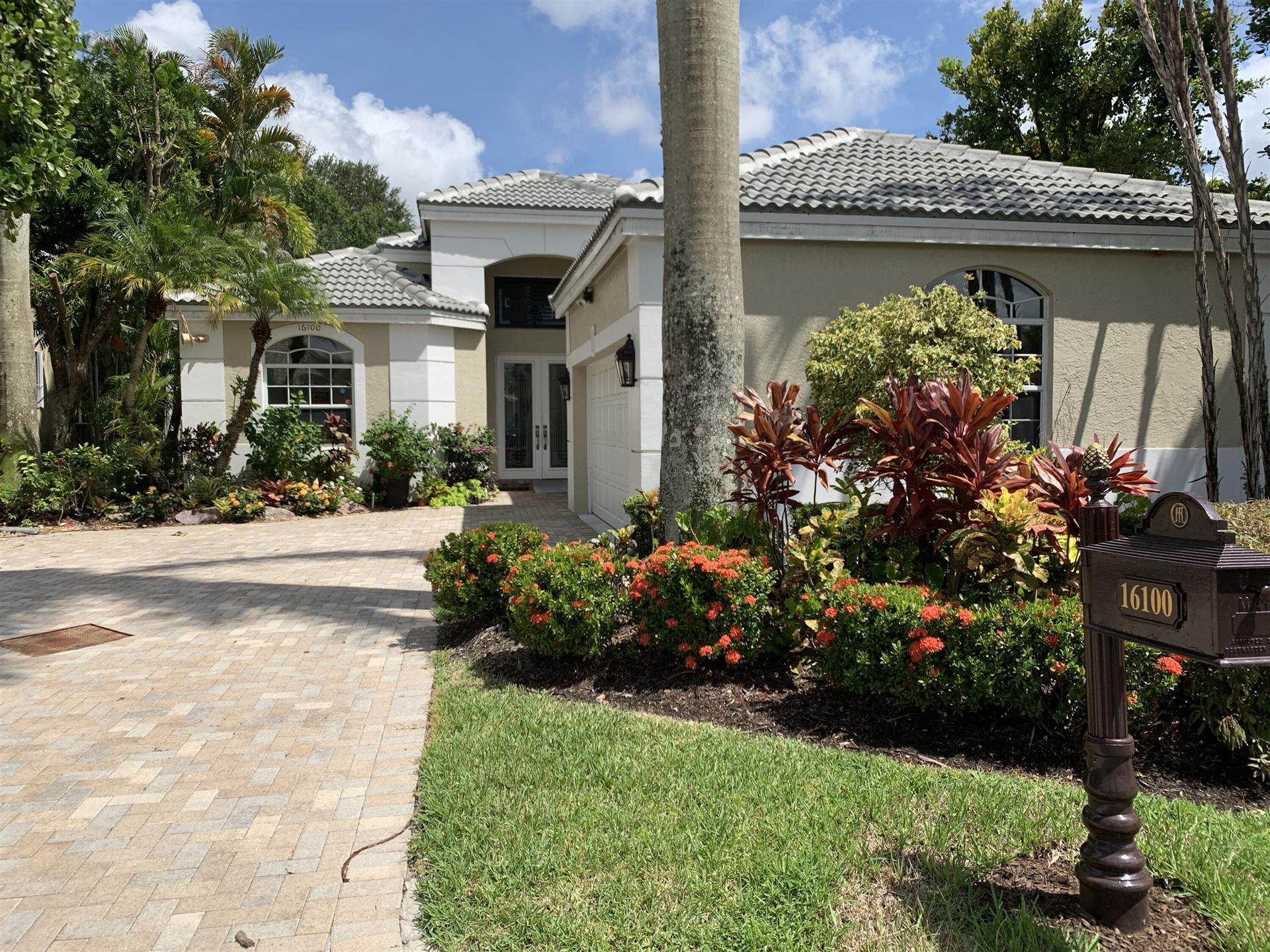 16100 Villa Vizcaya Place, Delray Beach, FL 33446 - #: RX-10745083