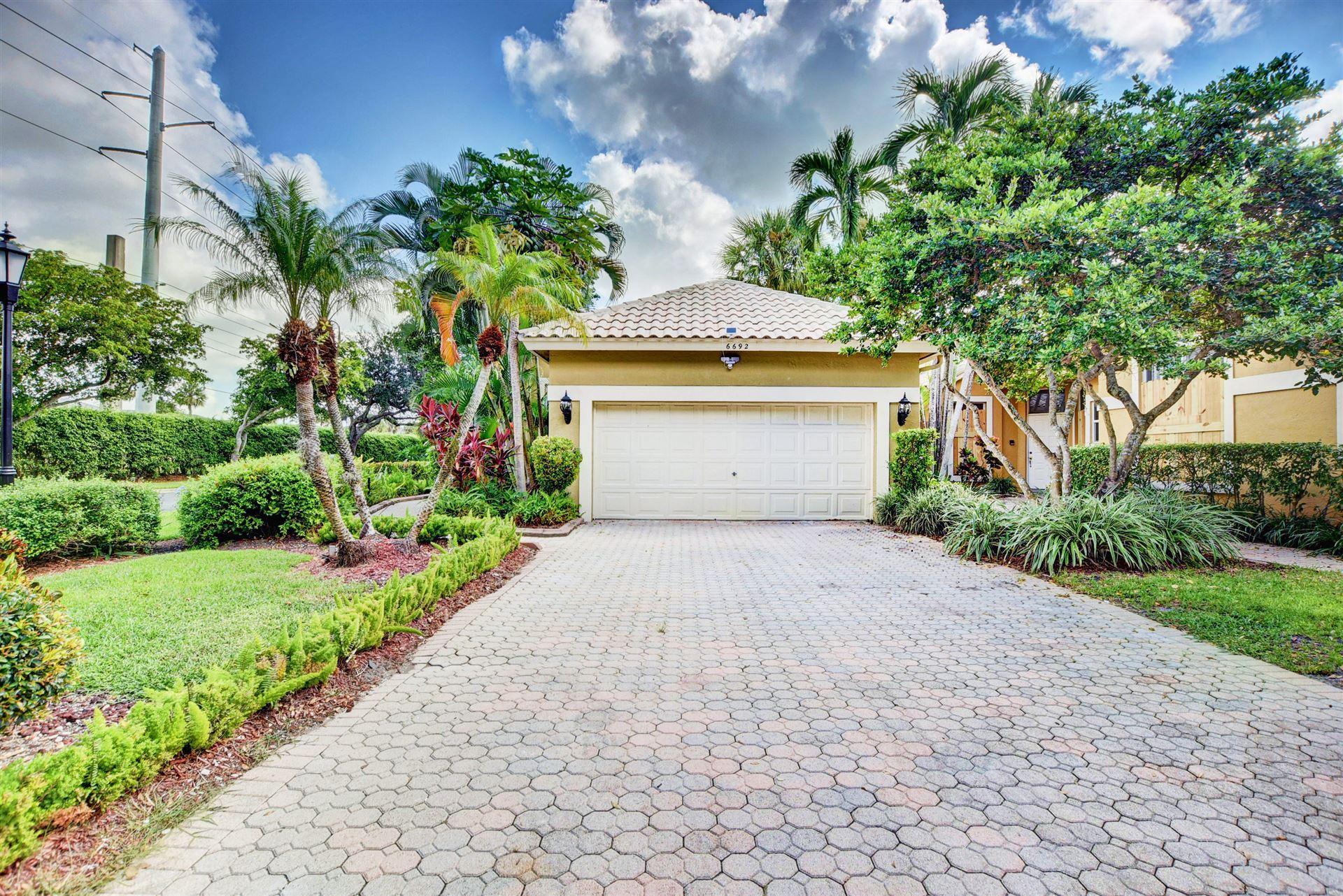 6692 NW 27th Avenue, Boca Raton, FL 33496 - MLS#: RX-10753083