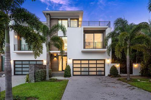 Photo of 215 Macfarlane Drive, Delray Beach, FL 33483 (MLS # RX-10655084)