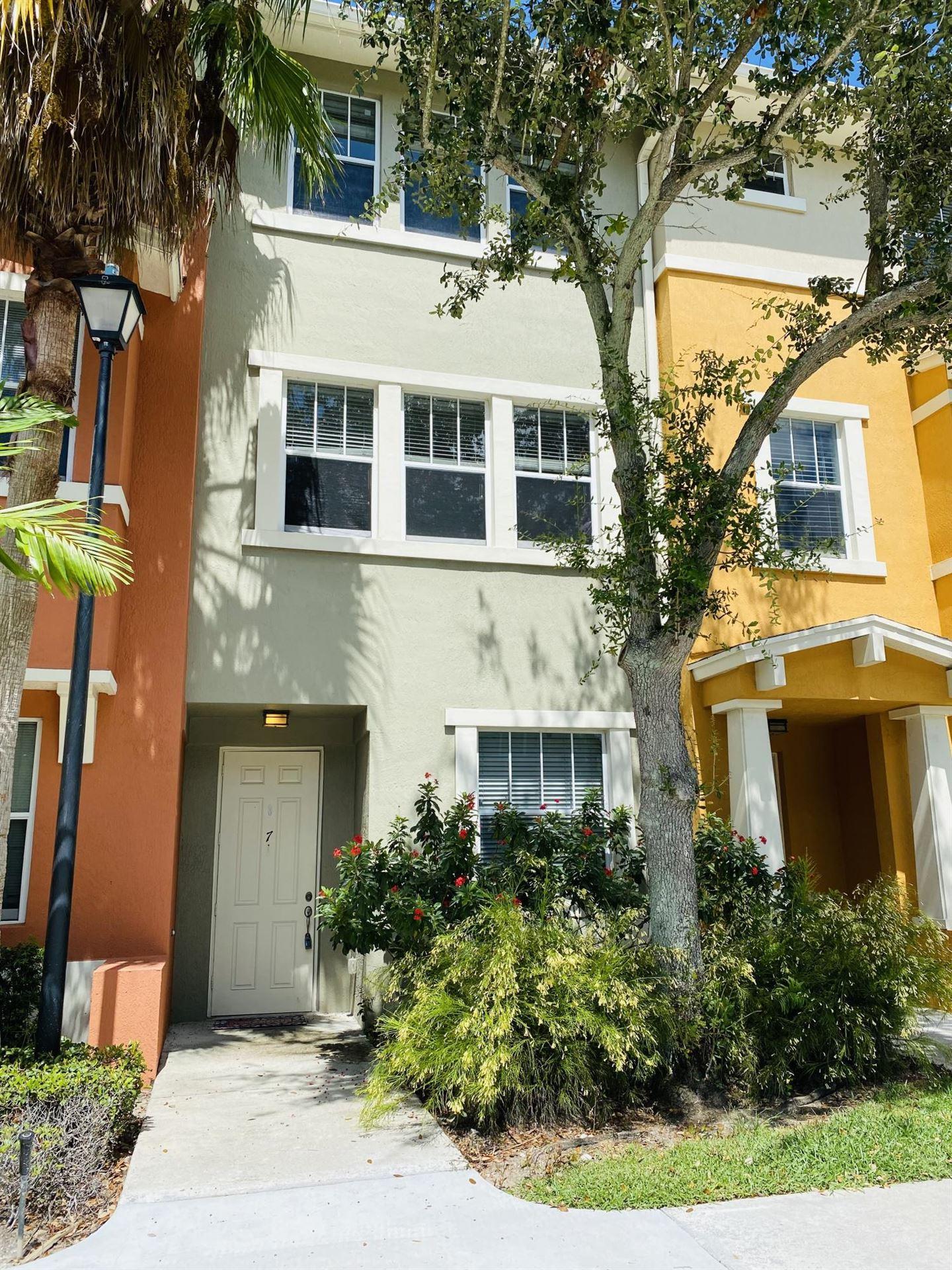 833 Millbrae Court #7, West Palm Beach, FL 33401 - MLS#: RX-10686085