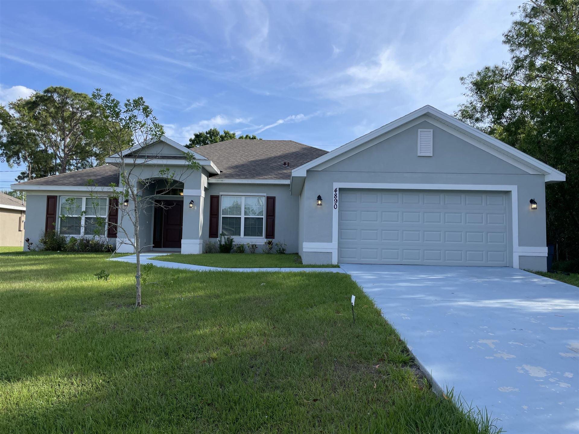 4890 NW Ironton Avenue, Port Saint Lucie, FL 34983 - #: RX-10697085