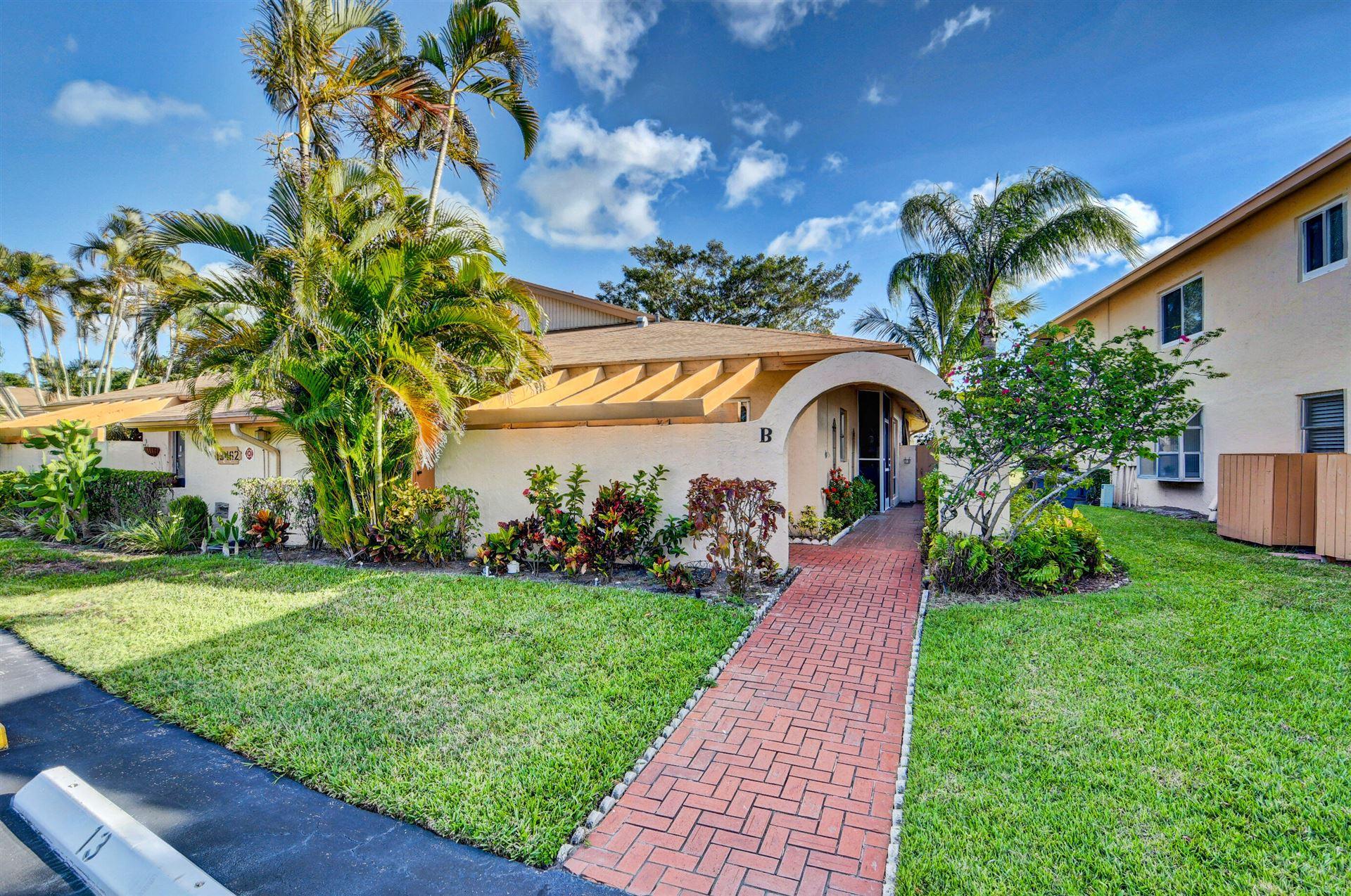 13462 Sabal Palm Court #B, Delray Beach, FL 33484 - MLS#: RX-10723085