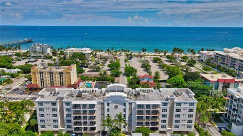 Photo of 101 S Ocean Drive #305, Deerfield Beach, FL 33441 (MLS # RX-10747086)