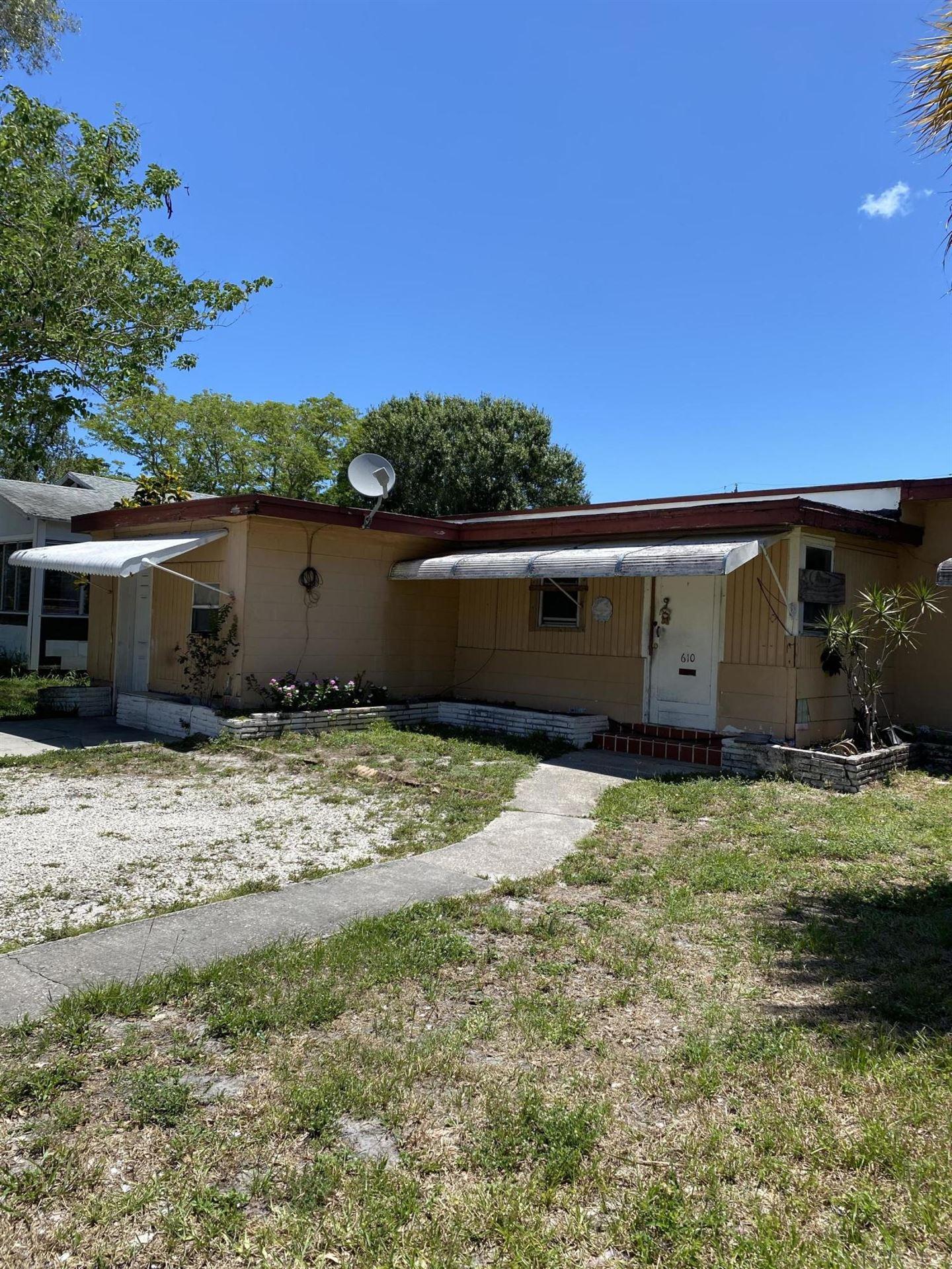 610 S 13th Street, Fort Pierce, FL 34950 - #: RX-10725086