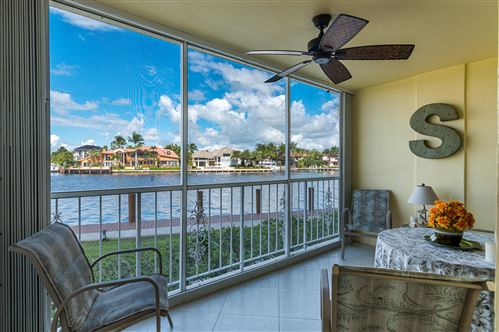 Photo of 3114 S Ocean Boulevard #102, Highland Beach, FL 33487 (MLS # RX-10656087)