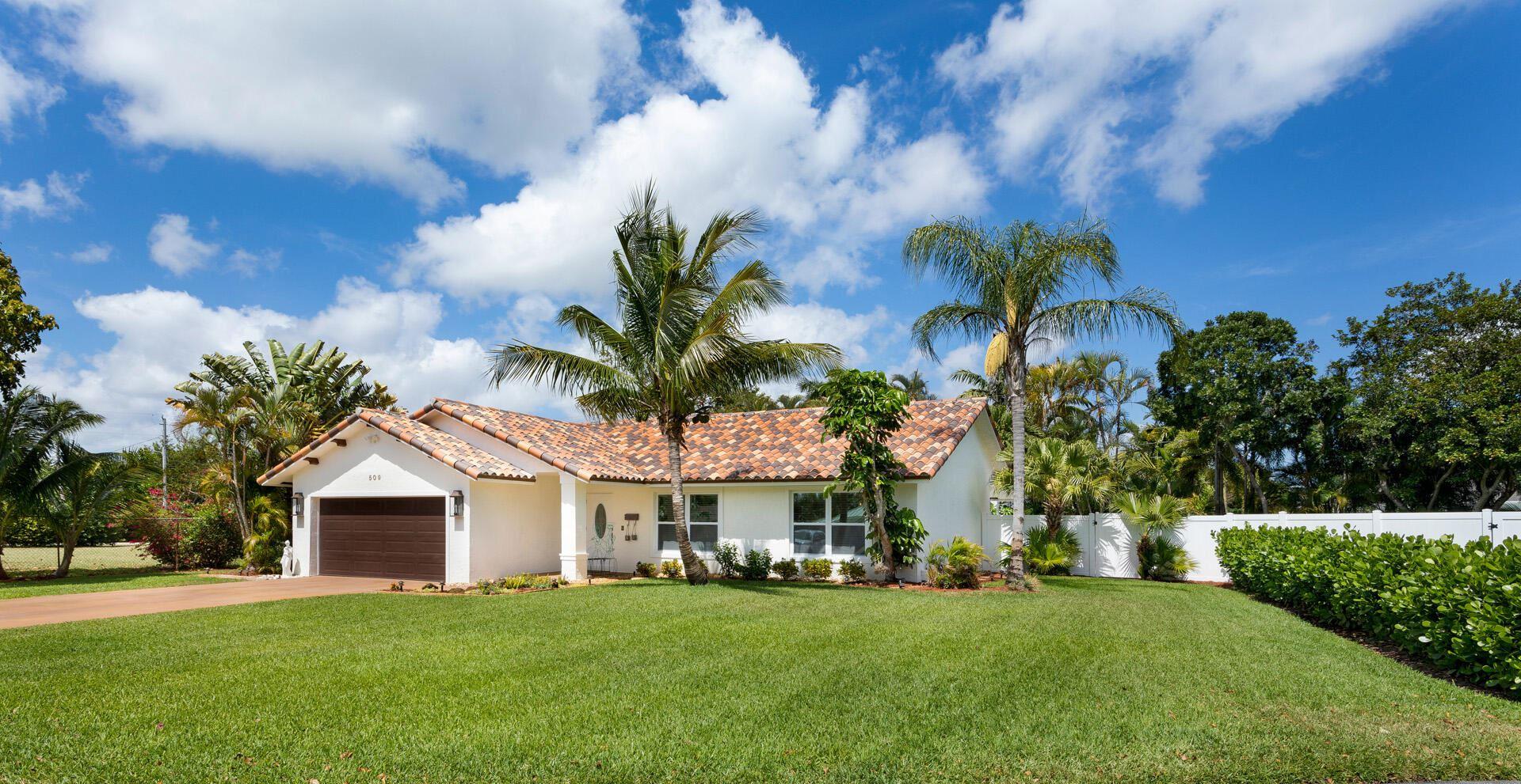 509 Eldorado Lane, Delray Beach, FL 33444 - MLS#: RX-10699087