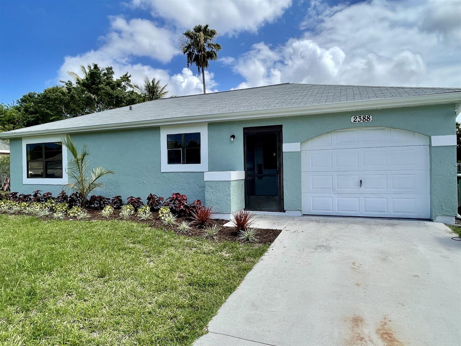 2388 SE Gillette Avenue, Port Saint Lucie, FL 34952 - #: RX-10723087