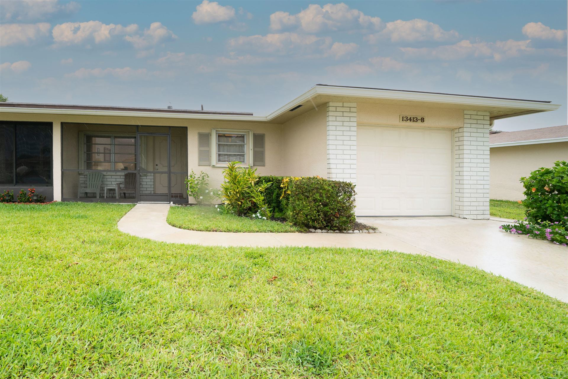 13413 Via Vesta #B, Delray Beach, FL 33484 - #: RX-10728087