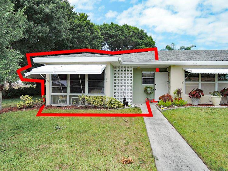 Photo of 622 Pines Knoll Drive #A, Fort Pierce, FL 34982 (MLS # RX-10709089)