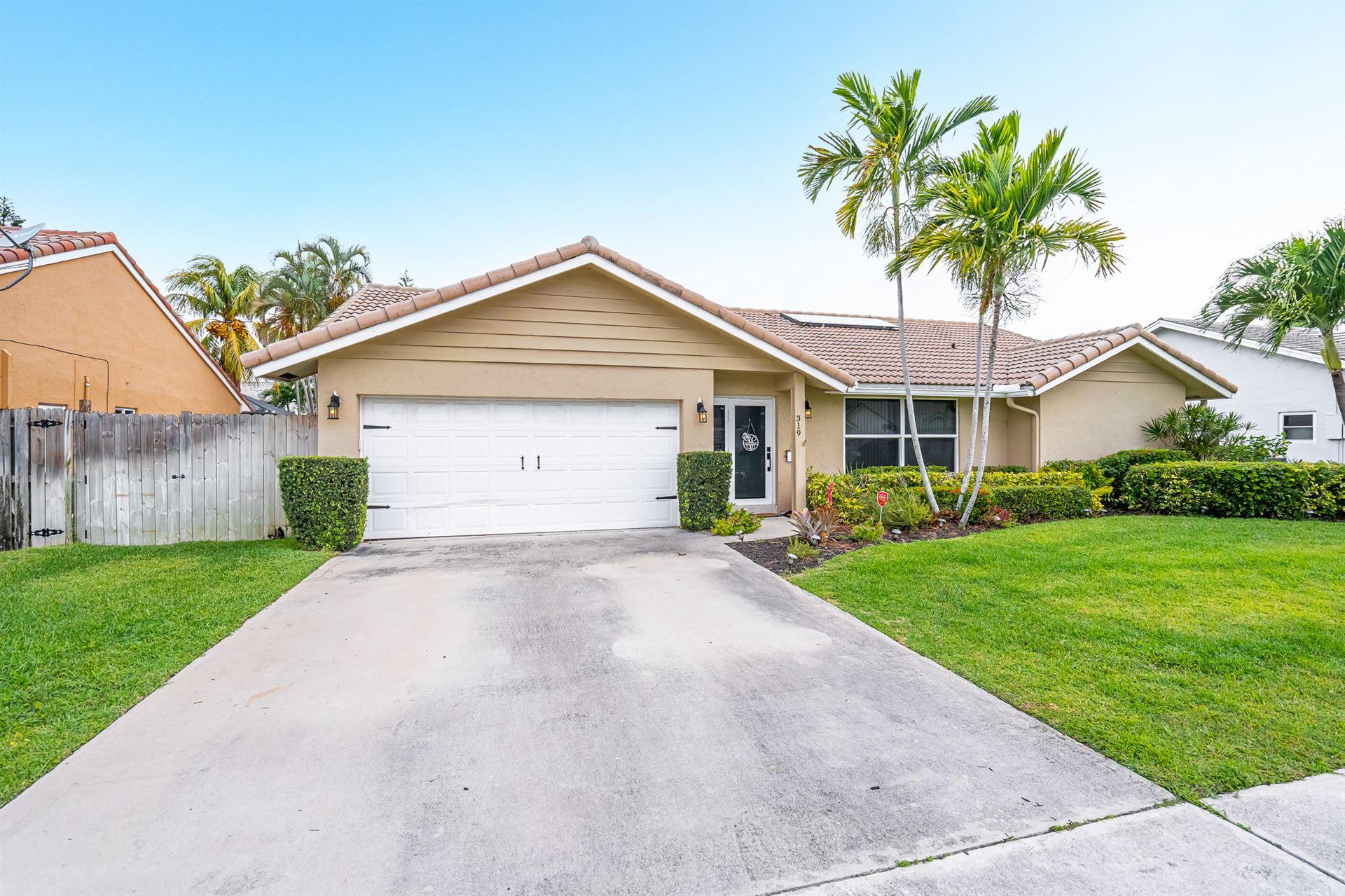 319 Sequoia Lane, Boca Raton, FL 33487 - MLS#: RX-10710089