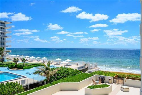 Foto de inmueble con direccion 3560 S Ocean Boulevard #402 South Palm Beach FL 33480 con MLS RX-10632090
