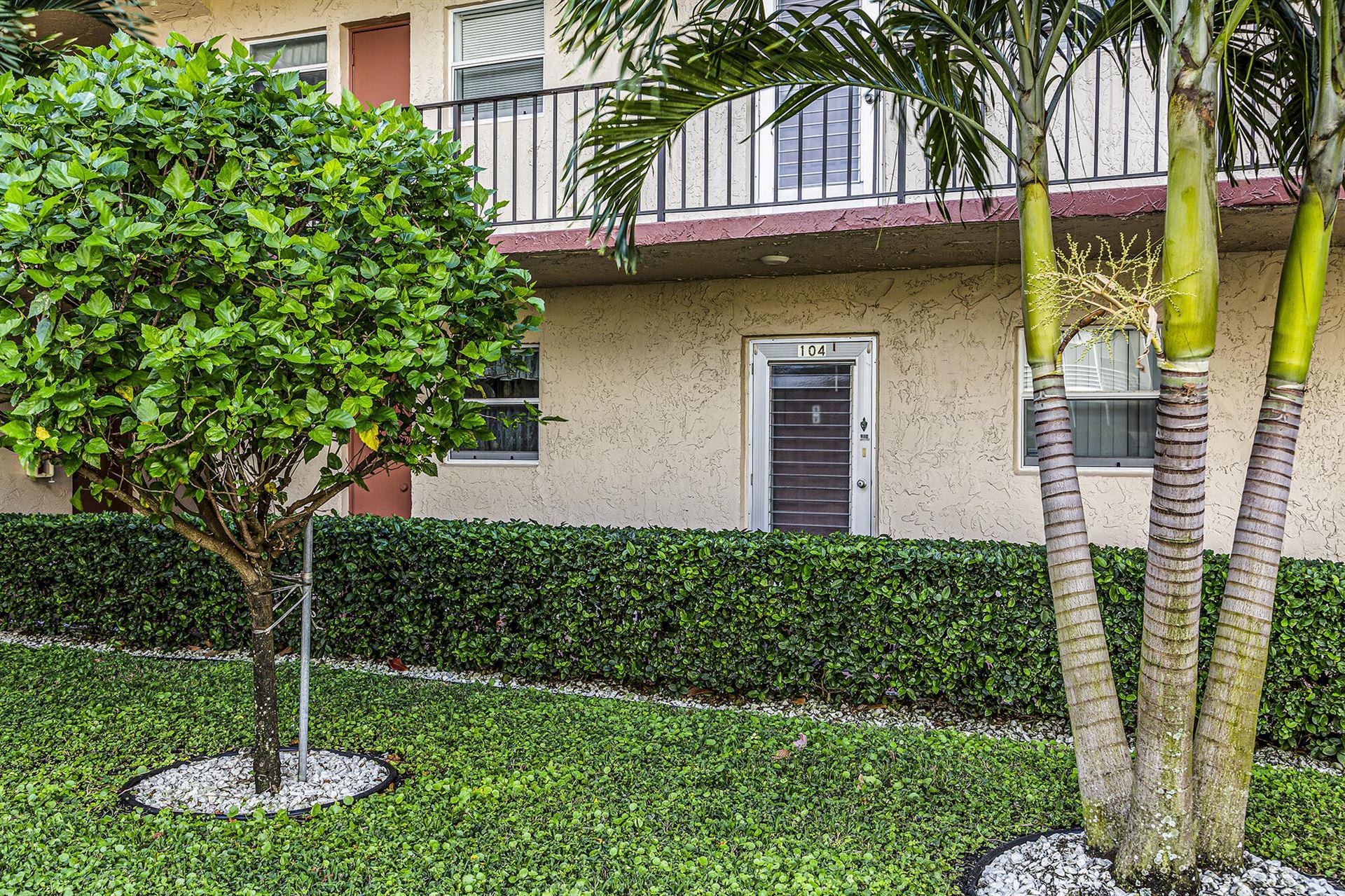 701 Lori Drive #104, Palm Springs, FL 33461 - #: RX-10691091
