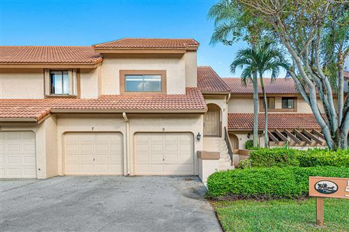 Photo of 5520 Coach House Circle #F, Boca Raton, FL 33486 (MLS # RX-10594092)