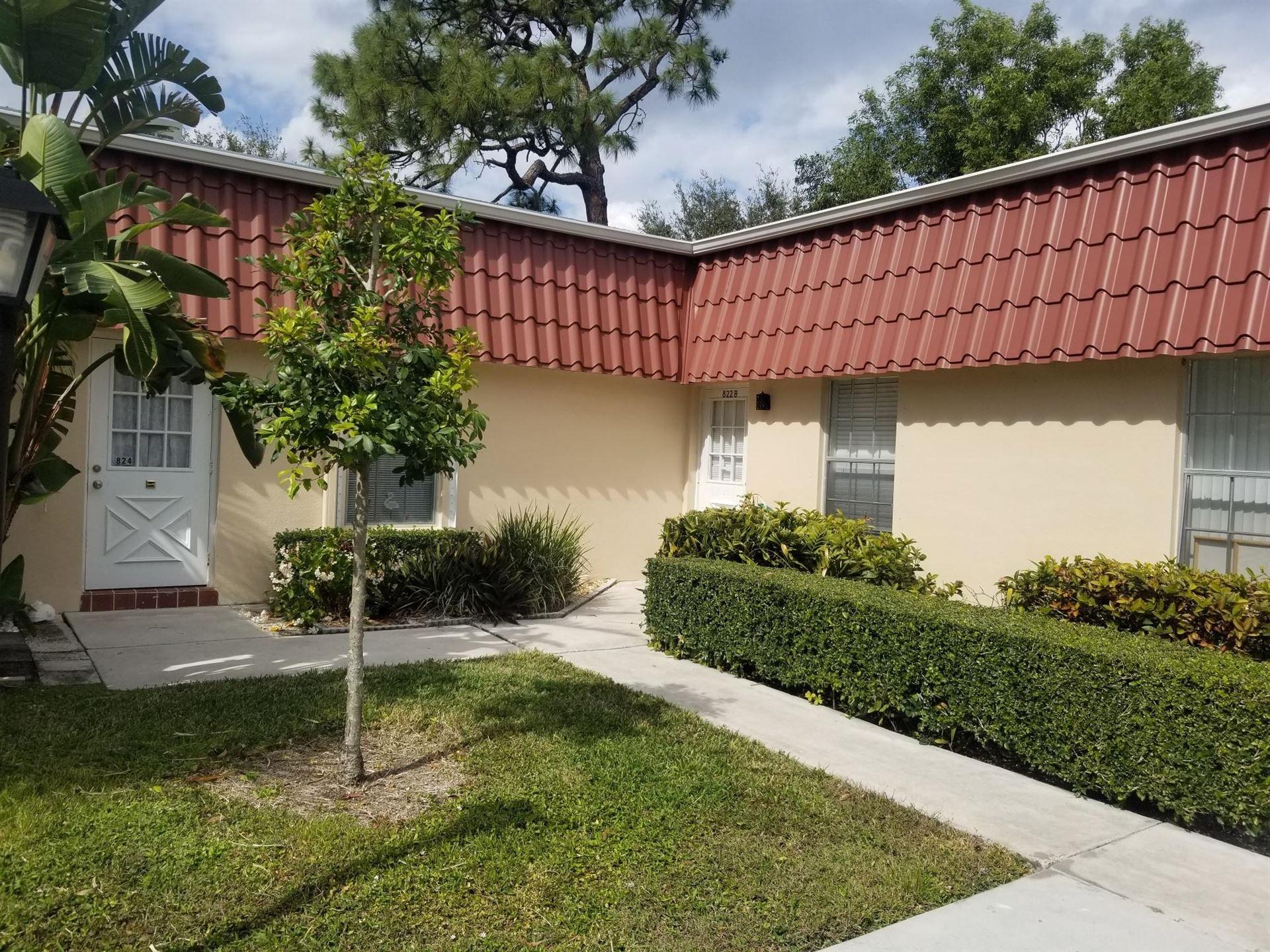 822 Salem B Lane #B, Lake Worth, FL 33467 - MLS#: RX-10691092