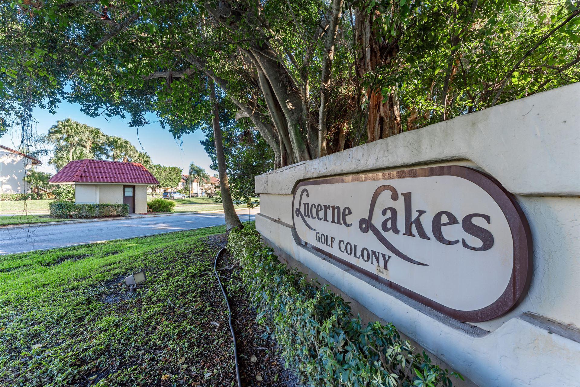 7154 Golf Colony Court #202, Lake Worth, FL 33467 - MLS#: RX-10739092