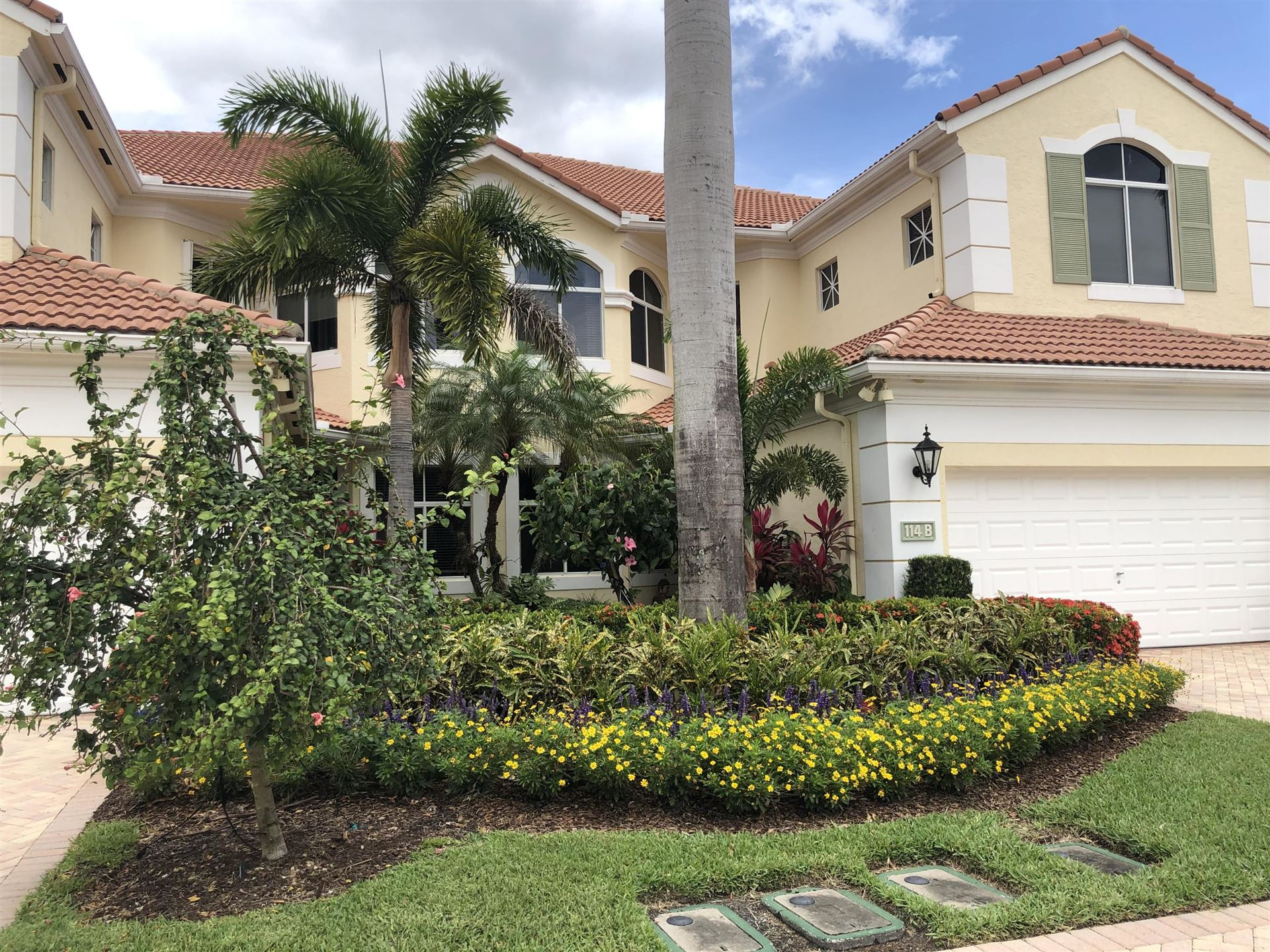 Photo of 114 Palm Bay Drive #B, Palm Beach Gardens, FL 33418 (MLS # RX-10704095)
