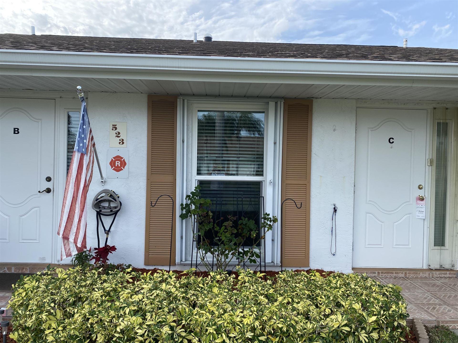 Photo of 523 Crooked Lake Lane #C, Fort Pierce, FL 34982 (MLS # RX-10618098)