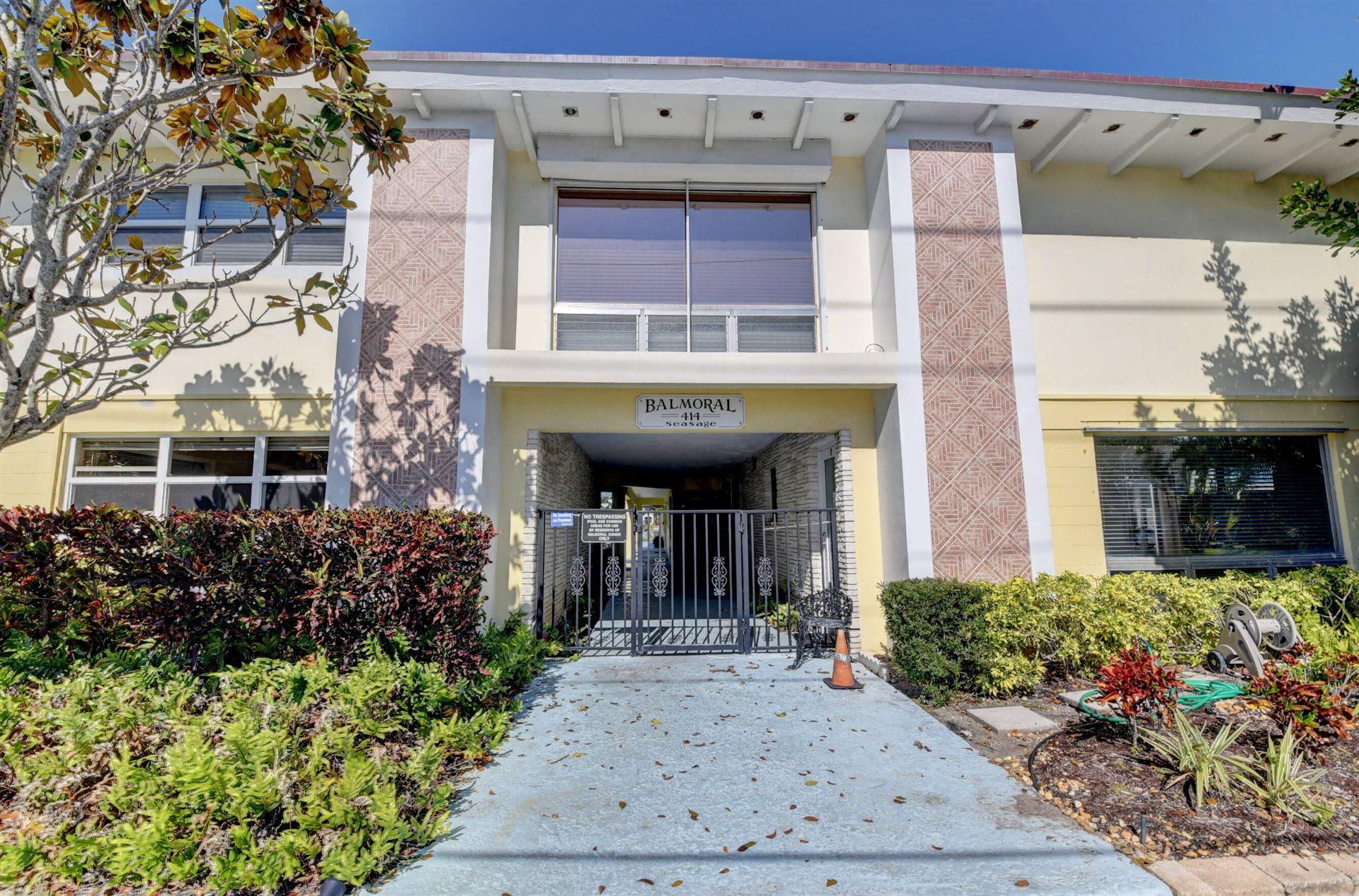 414 Seasage Drive #6, Delray Beach, FL 33483 - MLS#: RX-10708098