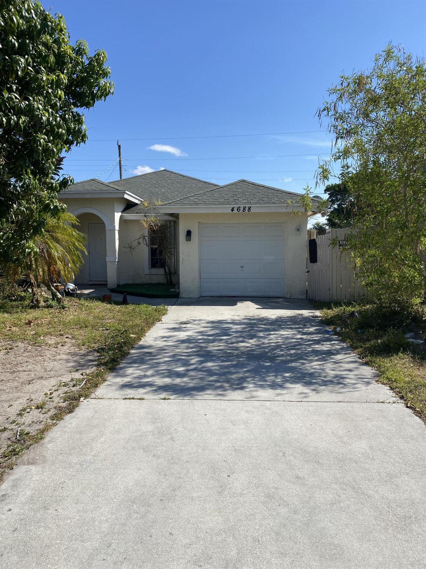 4688 Todd Street, Lake Worth, FL 33463 - #: RX-10706100