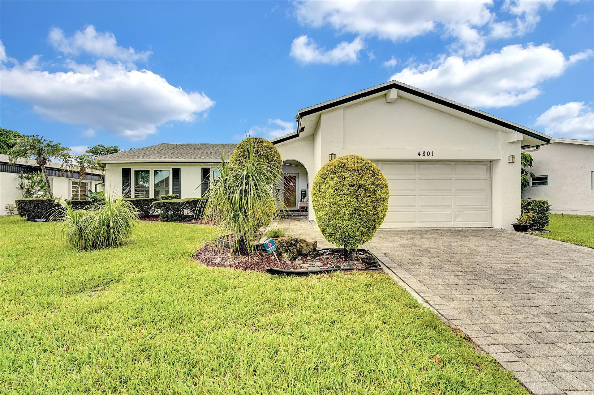 4801 Bayberry Lane, Tamarac, FL 33319 - MLS#: RX-10734103