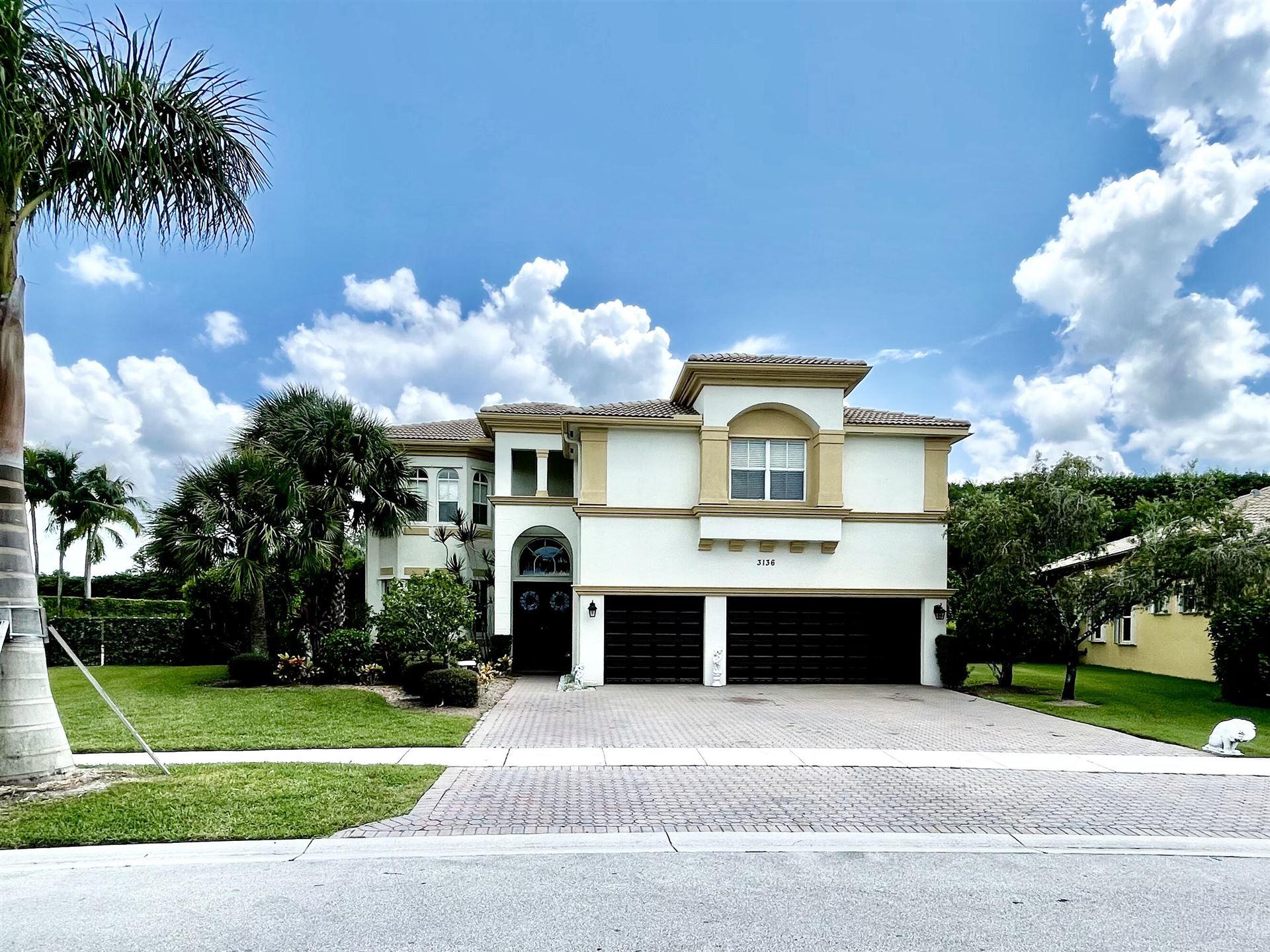 3136 Hartridge Terrace, Wellington, FL 33414 - MLS#: RX-10744103