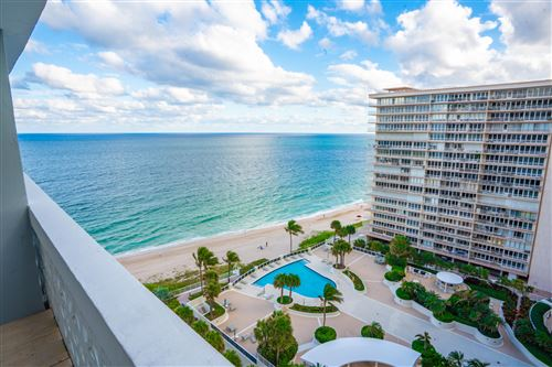 Photo of 4250 Galt Ocean Drive #14k, Fort Lauderdale, FL 33308 (MLS # RX-10674104)