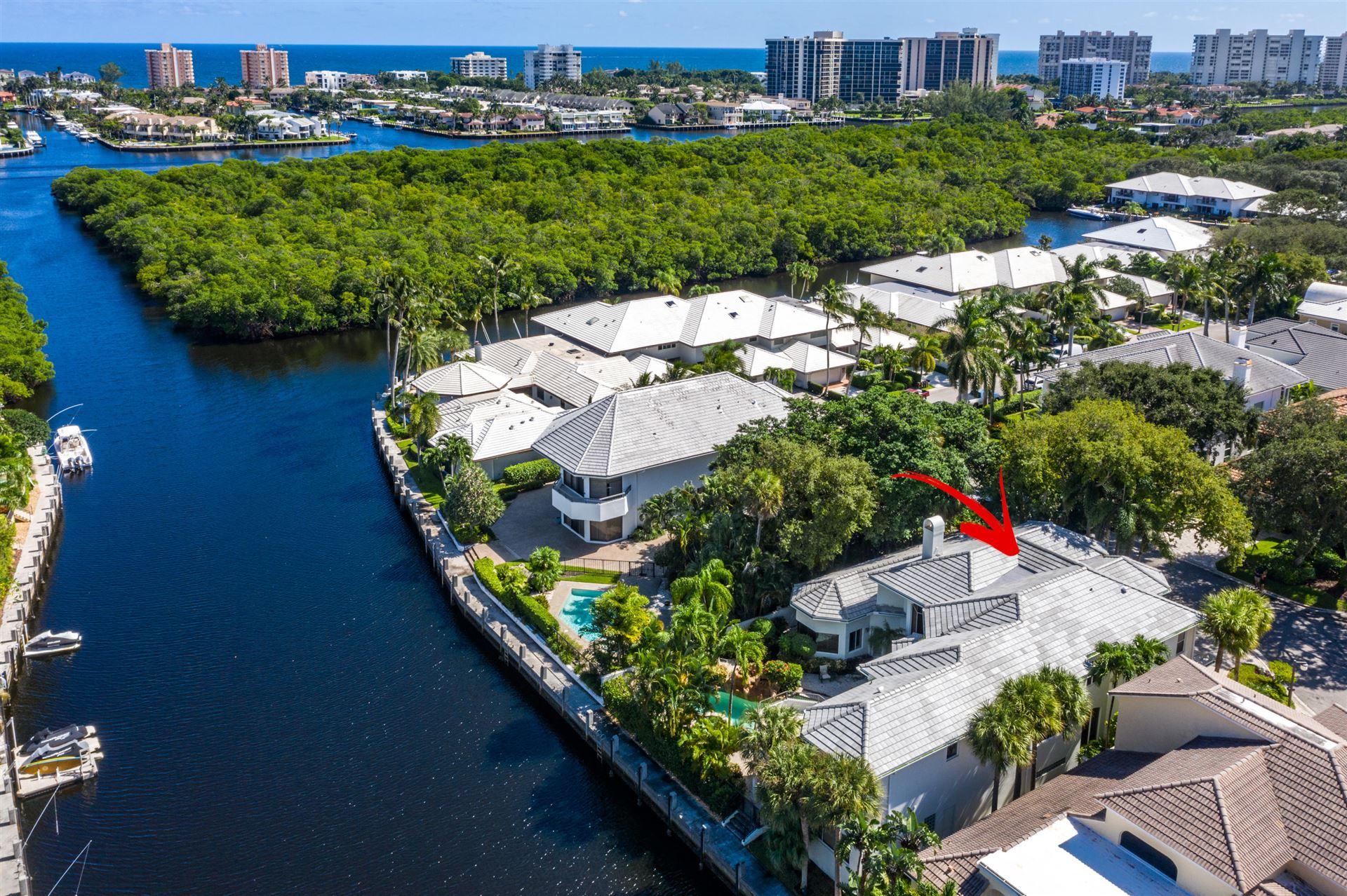 654 Boca Marina Court, Boca Raton, FL 33487 - #: RX-10667104