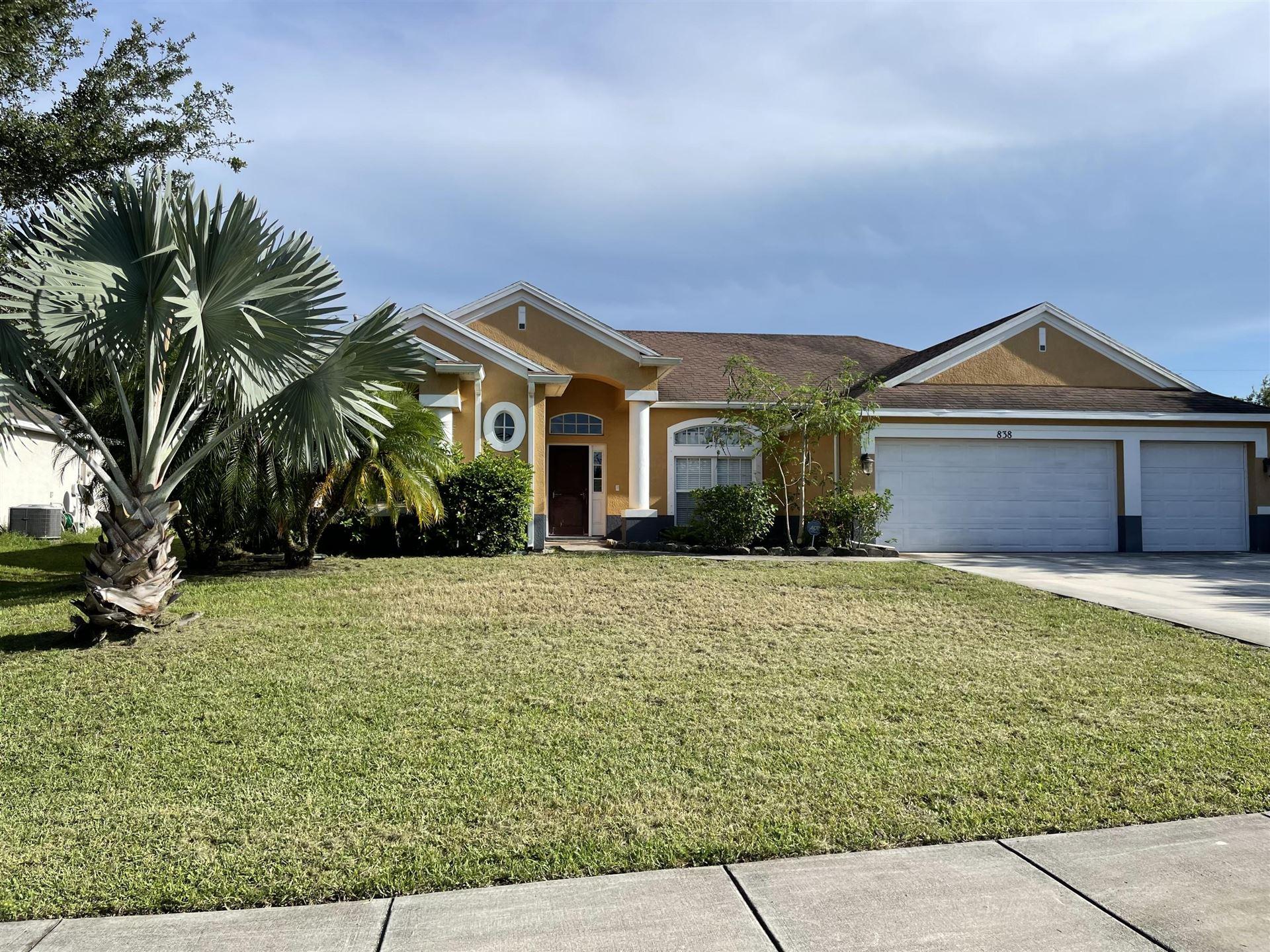 838 SW Tulip Boulevard, Port Saint Lucie, FL 34953 - #: RX-10732104