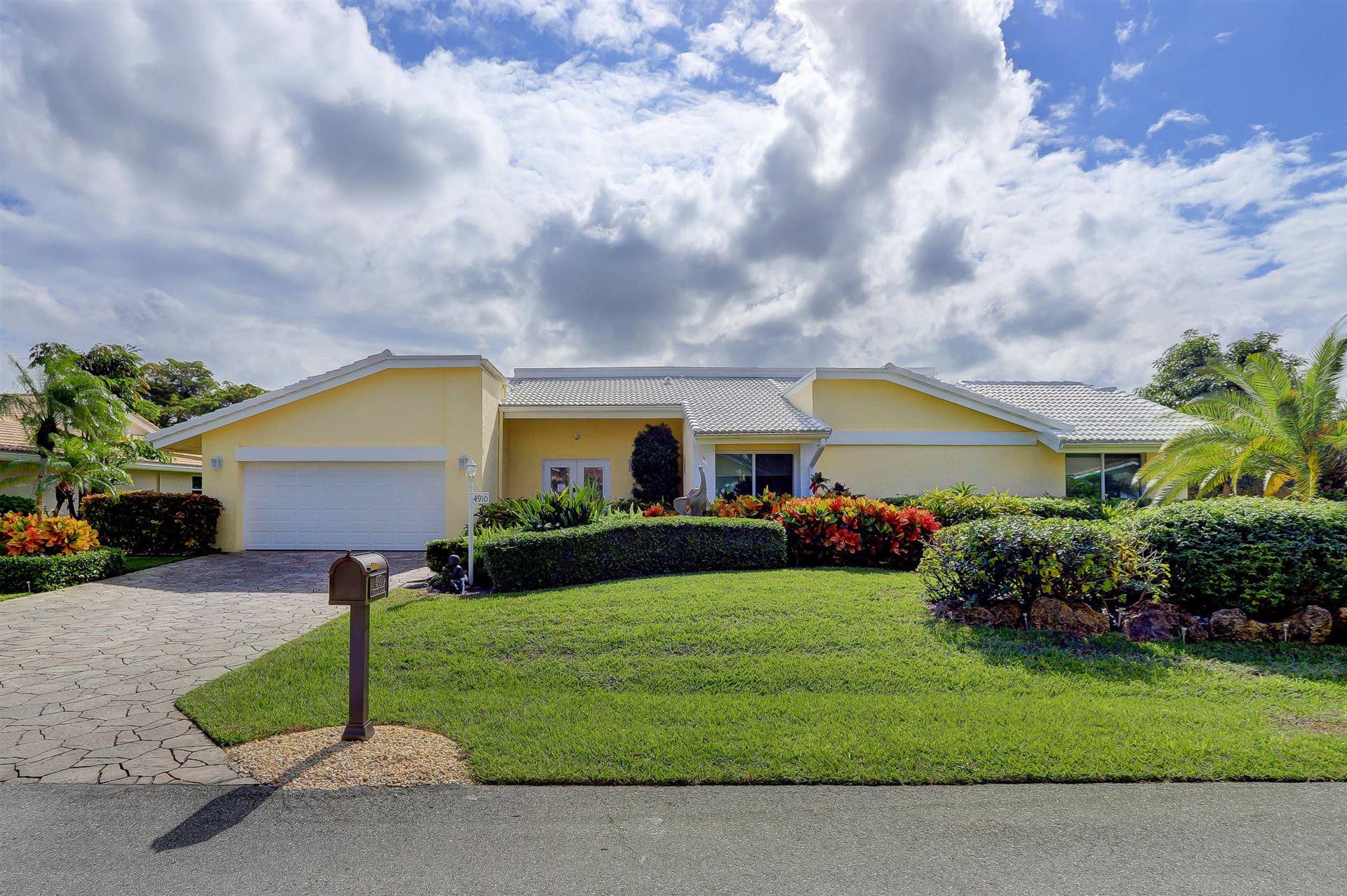 4910 Pineview Circle, Delray Beach, FL 33445 - #: RX-10672105