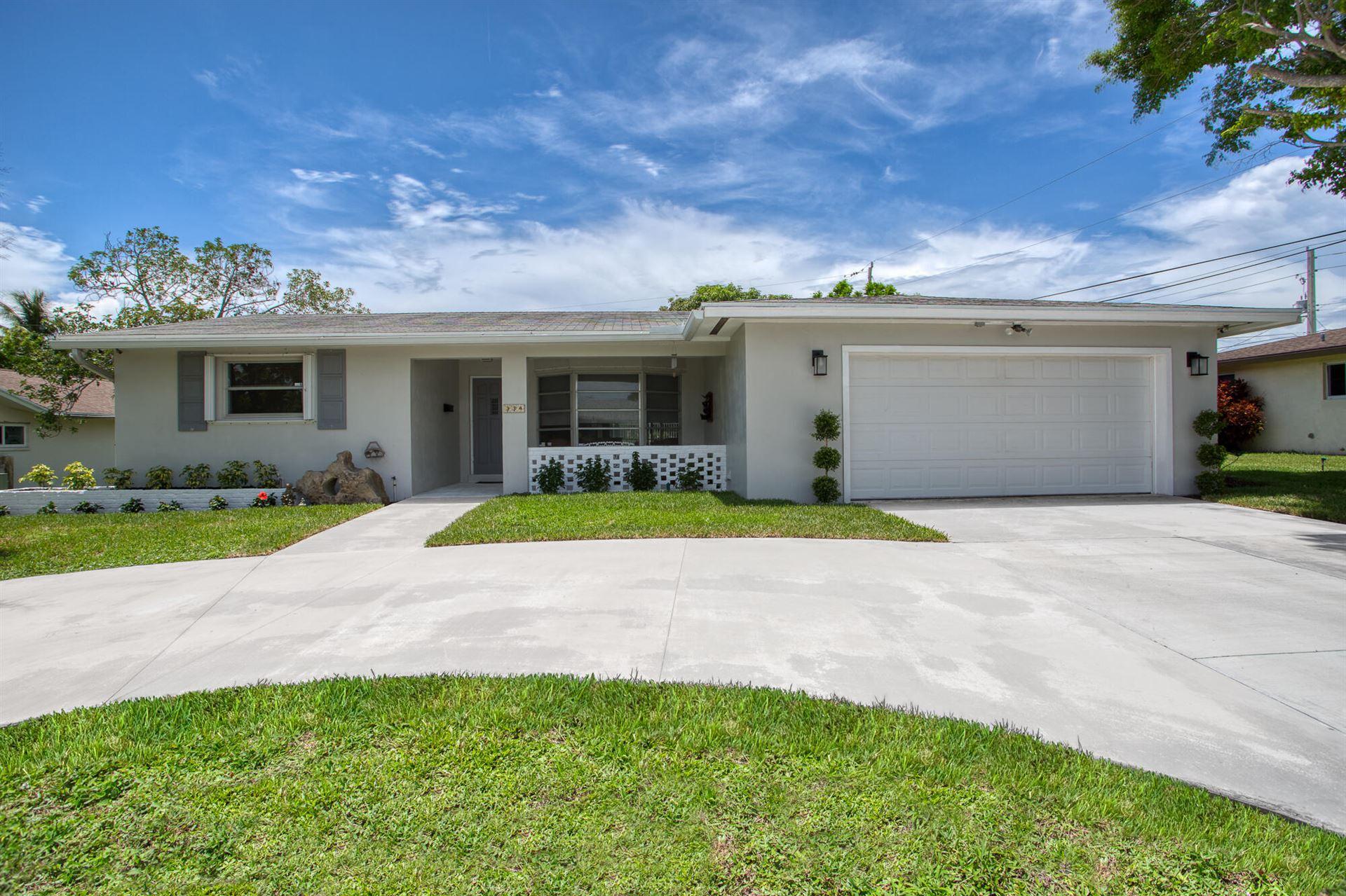 334 SW 13th Avenue, Boynton Beach, FL 33435 - MLS#: RX-10728105